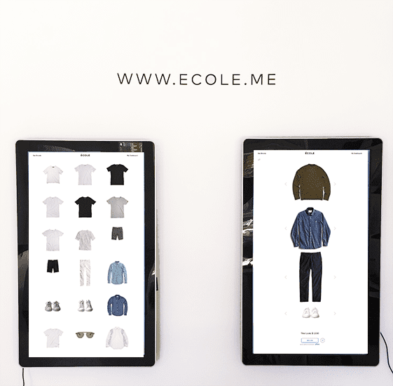 ecole me digital display software