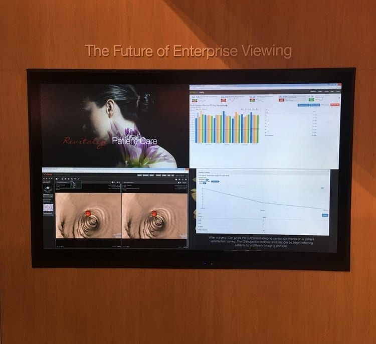 metroclick enterprise viewing touch screen system