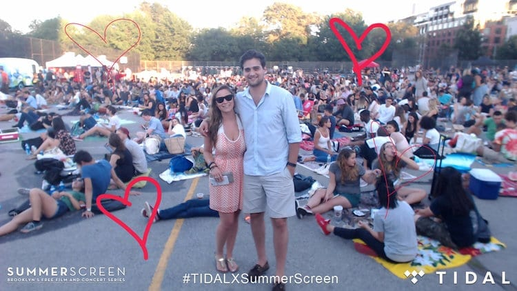 tidal summer screen photo booth solution metroclick