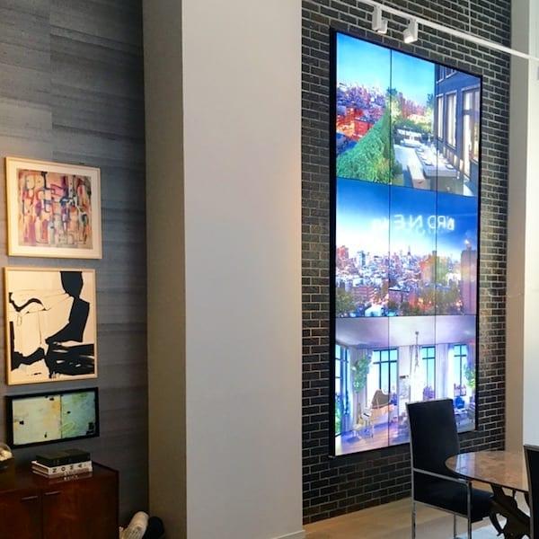 unique custom installation digital displays