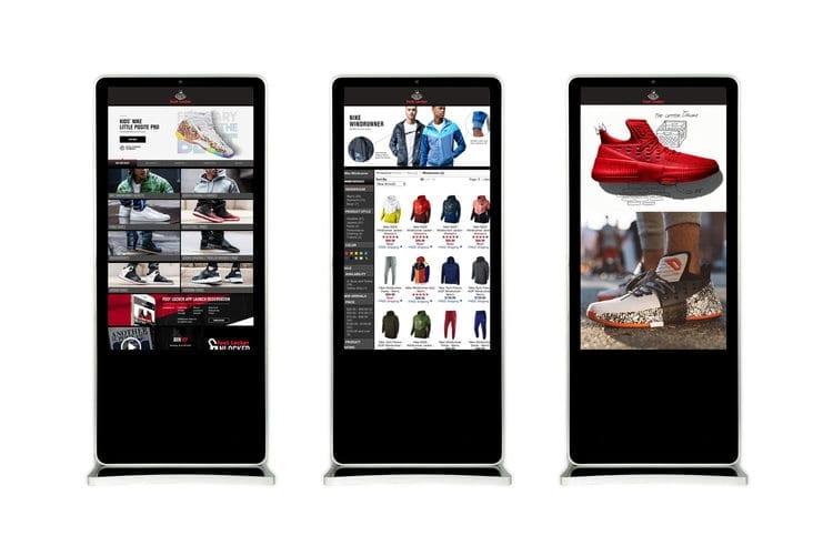 metroclick interactive touchscreens retail touchscreen kiosks