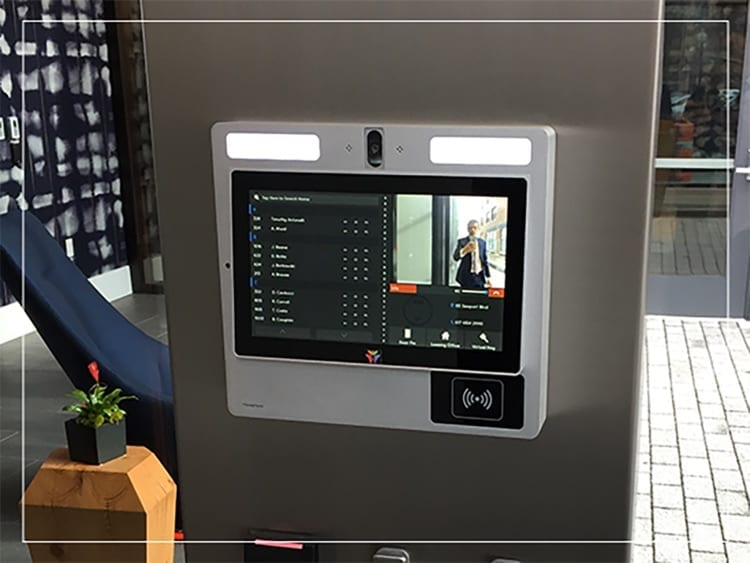 metroclick touch screen automated doormen camera