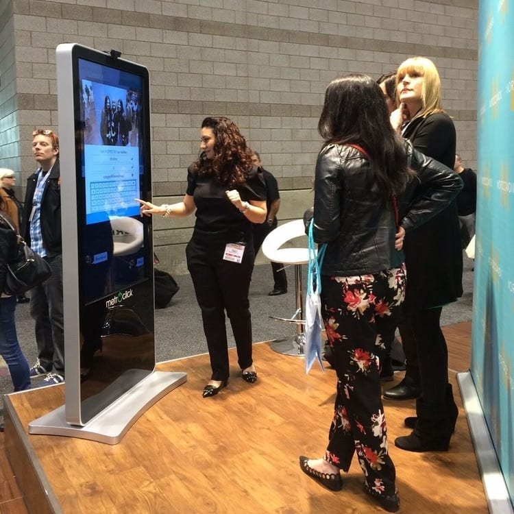 moroccan oil tradeshow interactive kiosk solutions metroclick