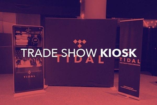 trade show kiosk