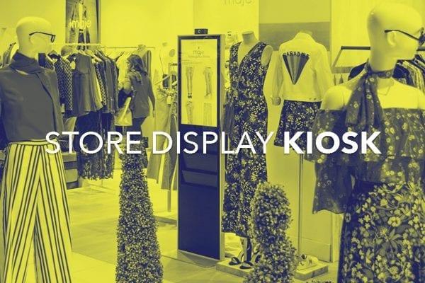 store display kiosk
