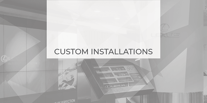 custom signage solutions