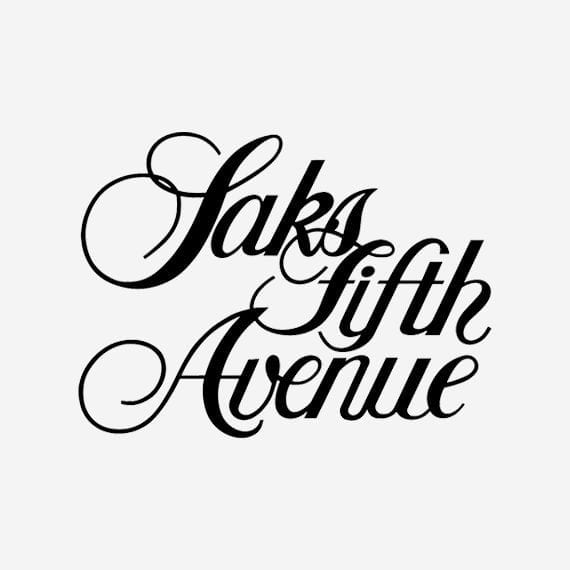 saks fifth avenue signage